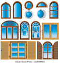 window clipart and stock illustrations window vector eps