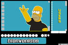 fundo xat fondo de homero simpsons