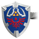 thinkgeek legend of zelda shield replica